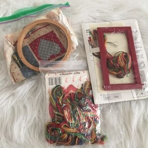 Vintage crafting bundle/stitch kit